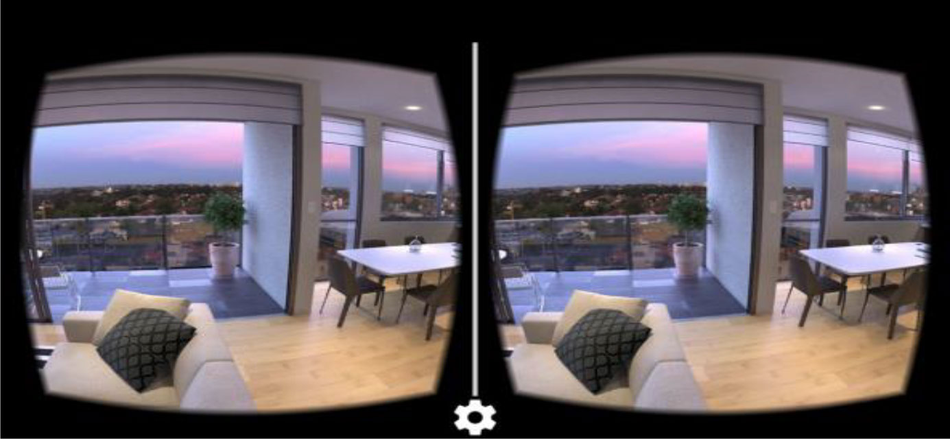 3D Goggle View