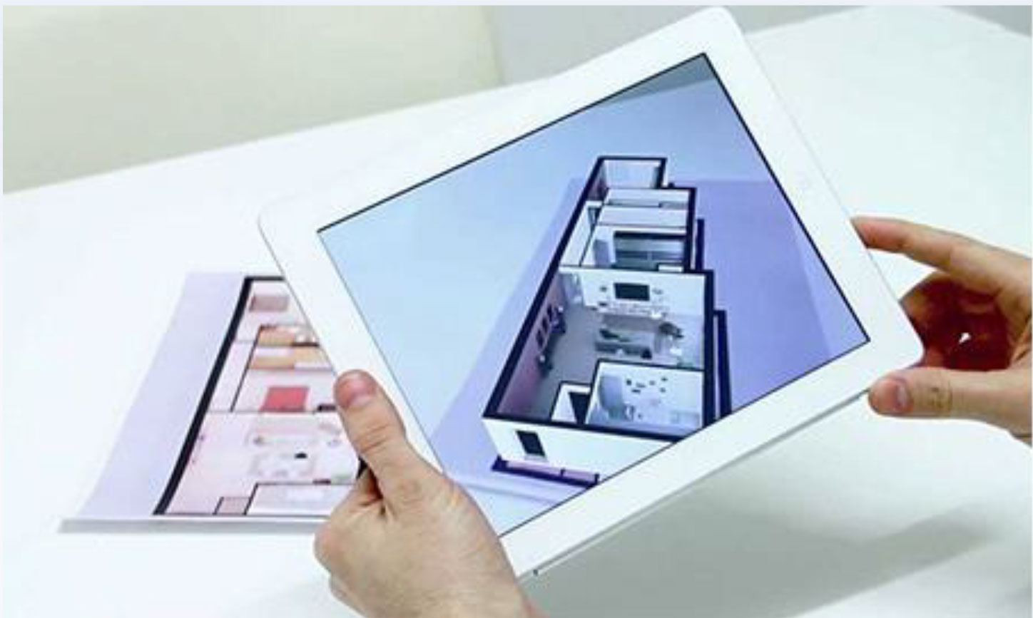 AR on 2D Floor Plan - Higher Resolution enables a better Clarity and Depth